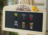 Wholesale Guardians of the Galaxy frigerator Magnetic Sticker Creative Style PVC Fridge Magnet Magnets Kids Party Favors Gifts