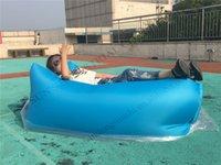 Wholesale New banana sleeping bag colors Lay Bag Air Bed Sofa inflatable air bags sleeping sofa Season air lounge