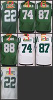 Wholesale NIK Elite Football Stitched jets Matt Forte Nick Mangold Decker Amaro Green White Jerseys Mix Order