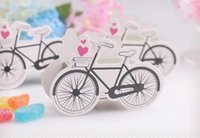 Wholesale 500PCS Bicycle Candy Box Cartoon DIY Gift Creative Manual Boxes Paper Party Wedding Children Birthday