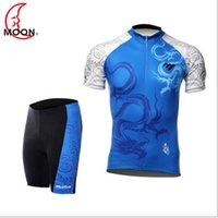 apparel equipment - moon short sleeved jersey suits mountain bike clothing spring and summer men riding pants riding apparel and equipment