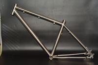 best bike tours - Manufacturing best seller gr9 Ti3al2 v C titanium touring bike frame from China good supplier
