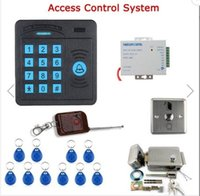 Wholesale SY5100R C Door Access Control Controller ABS RFID Reader Sensitively and response quickly Keypad Remote Control Electric Door Lock