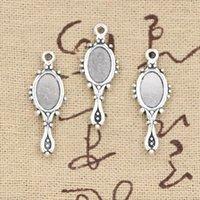 antique devil - Charms devil mirror mm Antique pendant fit Vintage Tibetan Silver DIY for bracelet necklace