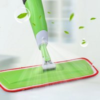 aluminum floor plate - Spray mop for Flat Wood floor mop Hand wash mops Household Floor Cleaning Tools Aluminium Pole Microfiber