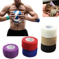 Wholesale 2016 New Roll Kinesiology Muscle Care Fitness Athletic Safety Sport Health Tape Bandage For Beauty Tool