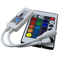 Wholesale RGB RGBW Led wifi controller V remote controller keys for led strip android ios iphone smartphone smart control home