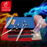 Wholesale Top quality JP C Professional hairdressing scissors set inch cutting shears inch thinning shears