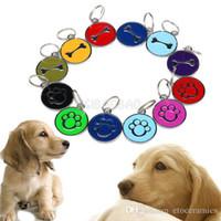 Wholesale Fashion stainless steel bone dog paws pet tag Pet ID tag pet pendant dog tag