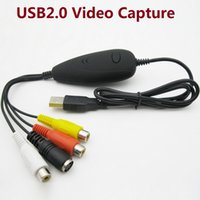 Wholesale VC172 USB Video Capture Card Convert Any Analog Video audio to Digital Work for Windows7