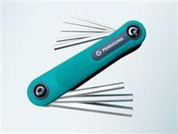 Wholesale 8 Peng sets of folding inner six angle screwdriver screwdriver plum cross word screwdriver