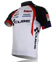 bicycle online - Online New cube Cycling Jersey Short Sleeve Team Bicycle Clothes Ropa Ciclismo Bike Jerseys Cycling Clothing Bicicletas XL