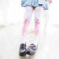animations hot pants - Hot New Sailor Moon Sweet Cosplay Costumes Printing Thighhighs Pants Socks Japan Animation Style
