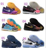 Wholesale New Arrival Top Quality Mens Basketball Shoes Kobe X Low Cut Sneakers Mens Kobe X Elite Trainers Footwear