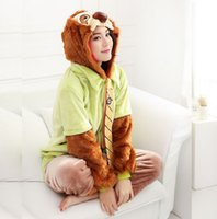 Wholesale Adult Animal Onesi Pajamas Zootopia Sloth Flash Cosplay Costume Flannnel Warm One Piece Sleepwear Couples Cute Kugurumi Siamese Onesies