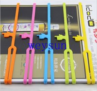 Wholesale Creative Learning Supplies Gifts Silicone Finger Bookmarks