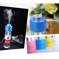 Wholesale USB Portable ABS Water Bottle Cap Mini Humidifier DC V Office Air Diffuser Aroma Mist Maker
