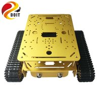 arduino wifi - Original DOIT Double layer Tank chassis DT200 RC WIFI robot tank car model ESPduino Compatible with Arduino uno r3 diy rc toy