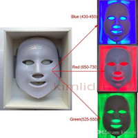 Wholesale 2015 new LED facail mask Light skin led mask manual Skin Photon Rejuvenation Acne Remover beauty machine Anti aging With LED Colors