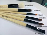 best hair for makeup brushes - Professional Makeup Tools Kits of Goat Nylon Hair Best Quality Makeup Brushes Concealer Brush Eyeliner Eyebrow Brush for Women