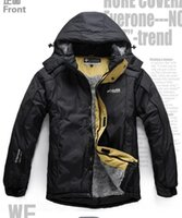 Wholesale hot sale Winter new men outdoor sports coat fashion thickening Cotton padded clothes jacket