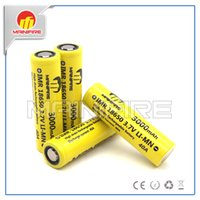Wholesale Best battery for box mod vapor e cigs use Mainifire imr mah a high drain battery vs lg hg2 or lg he4