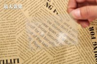 Wholesale DHL Bank Credit Card Size Thin Magnifier x Magnifying Lens Reading PVC book mark Gift New
