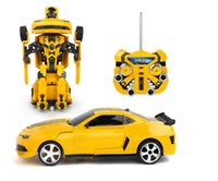 Wholesale Hot Sale new updated Transformer Radio Remote Control Car model car toy car FreeShipping