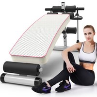 abdominal crunch equipment - Breathable paragraph supine boards crunches board sport and fitness equipment home fitness benches multifunction abdominal board