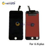 Wholesale Grade A LCD Display Touch Screen Digitizer Full Assembly With Frame Repair Replacement For iPhone g iPhone plus