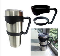 Wholesale New DHL OR SF Rambler Handles for YETI Cups oz Cool summer for Outdoor Travel Portable Double Wall Car Cups pc per