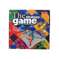 Wholesale 10pcs Most Popular Party Board Game BLOKUS The Strategy Game for whole family Players
