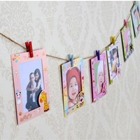 Wholesale Picture Photo Frame for Home Decoration New Summer Style Frame Inch DIY Wall Hanging