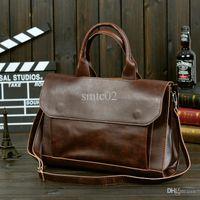 allure bag - Hot Sale Allure Homme Business Bag Crazy Horse Leather Men s Messenger Bag Briefcase Man Shoulder Bag Laptop Bag