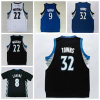andrew white - 2016 Men Karl Anthony Towns Jerseys Karl Anthony Uniforms Zach LaVine Andrew Wiggins Shirt Ricky Rubio Team Color Blue White Black
