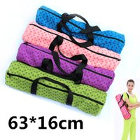 bags for yoga mats - Yoga Mat Bags with Zip Portable Silicon Plum Point Yoga Mat Carry Bag Waterproof Yoga Backpack for Pilates Crossfit Gym Bag Workout Sports