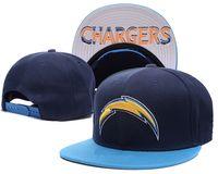 Wholesale new Chargers San Diego Snapback Caps Adjustable Football Snap Back Hats Hip Hop Snapbacks High Quality Players Sports