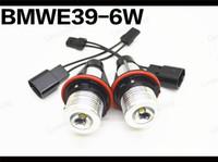 Wholesale 6000k Xenon White W puri chip LED Angel Eyes Bulb for BMW E39 E53 E60 E63 E64 E65 E66 E83 Series X3 X5 led marker