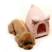 Wholesale Animal Small Pig Kennel Plush Piggy Dog Mat Dog Blanket Pet Dogs Bed Cat Litter Mat Warm Cat Bed House Sweet Pets Home