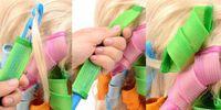 Wholesale DHL DIY MAGIC LEVERAG Magic Hair Curler Roller Magic Circle Hair Styling Rollers Curlers Leverag perm set