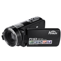Wholesale AMKOV DV161 Inch LCD Screen HD P FPS MP X Digital Zoom Anti shake Digital Video DV Camera Camcorder D3933