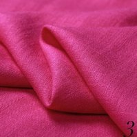 bamboo textile fabric - Home Textile Linen Cotton Stitch Bonded Weft Plain Breathable Plain Dyed Bamboo Fiber Fabric