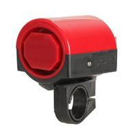 Wholesale Mini Plastic Bicycle Bike Cycle Ultra loud Electronic Bell Ring Horn Red gib