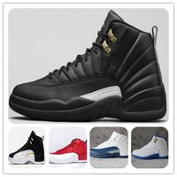 Wholesale Retro s XII THE MASTER BLACK GOLD Basketball Shoes Sports Shoe Mens Athletics White OVO Wings French blue women Sneaker