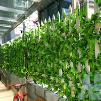 artificial grape vine garland - 12pcs ft Artificial grape Ivy Vine Leaf Garland Plants Fake Foliage green Decor