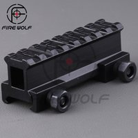 ar riser - Hunting Scope Mount Adapter quot Riser Base AR Dovetail Weaver Mount quot Picatinny Rail Hunting Accessories