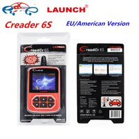 Wholesale 2016 Launch X431 Creader Plus Creader S Original Code Reader OBD2 scanner European American version Launch CReader VI Plus