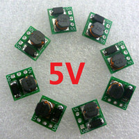 Cheap 8PCS 1.5V 3V 3.3V 3.7V 4.5V to 5V DC DC Step UP Switching Power Supply Board for Instruments LED Motor Toy