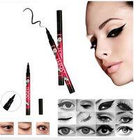 Wholesale 2016 New Eyeliner Makeup Yanqina Waterproof Eyeliner Precision Liquid Eye Liner h mm Not Blooming Long lasting Easy Dry DHL free