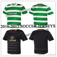 Wholesale Wholesalers Scottish Celtic soccer Jerseys MULGREW LUSTIG UIRGIL BITTON BROWN home away rugby football shirts
